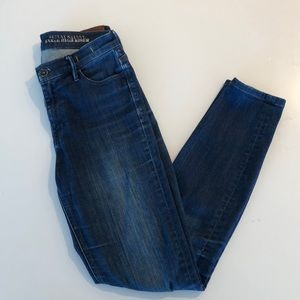Madewell skinny ankle high rise jeans